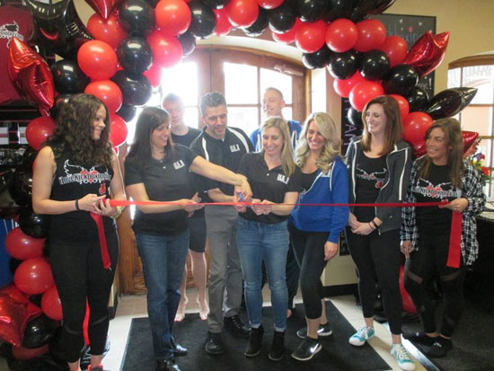 Ribbon Cutting at ILoveKickboxing in DeWitt